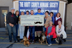 2015 Steamboat Springs Mustache Ride Big Check