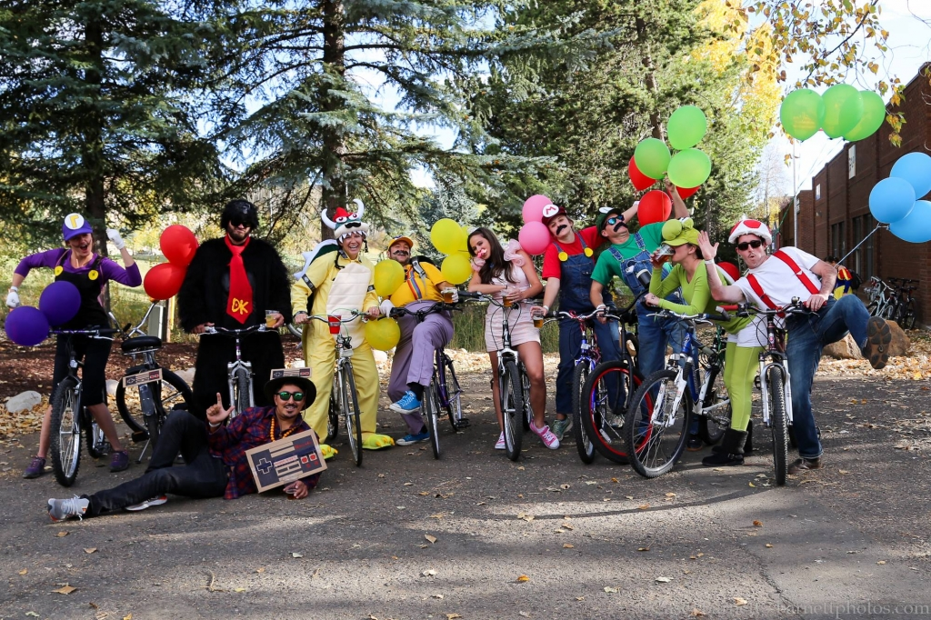 Mustache Ride Team Mario Cart